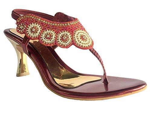 XINJING-S Britische Frauen Damen Hochzeit High Heel Stiletto Bridal Brautjungfer Schuhe Größe DD 474, UK 5,5