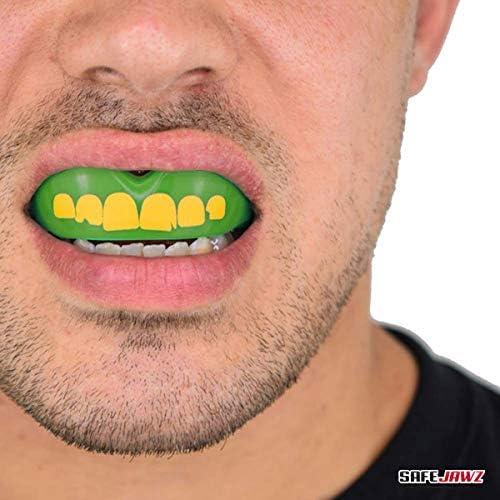 Safejawz Mouthguard Gumshield Ogre design Rugby Boxing