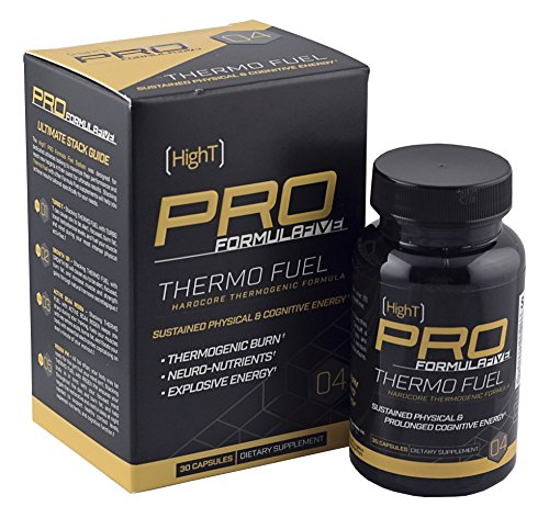High T Pro FormulaFive Thermo Fuel - Best Fat Burner - Hardcore Thermogenic 30 Day Supply (30 CT)