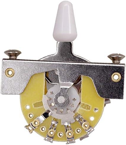 Selector de pastillas de 3 posiciones del interruptor de guitarra ...