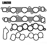 LIMICAR Intake Manifold Gasket Set Fit 1994-2003 Lexus ES300 1995-2004 Toyota Avalon 1994-2006 Toyota Camry 2001-2003 Toyota Highlander 1998-2003 Toyota Sienna 3.0L V6 MS92766 MS16348 IMSTO033