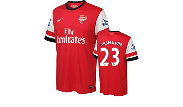 the latest fd9a5 f75b1 Amazon.com: Andrei Arshavin #23 Arsenal Jersey: Nike Home ...