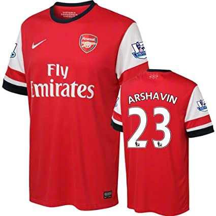 the latest fa012 16c40 Amazon.com: Andrei Arshavin #23 Arsenal Jersey: Nike Home ...