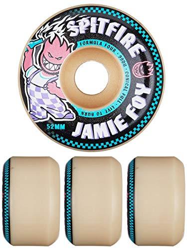Spitfire Formula Four Jamie Foy Conical 99D Skateboard Wheels (52mm)