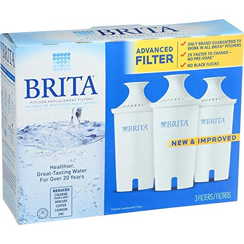 BRITA Filter Cartridge Replacement 3Pk, 3 CT
