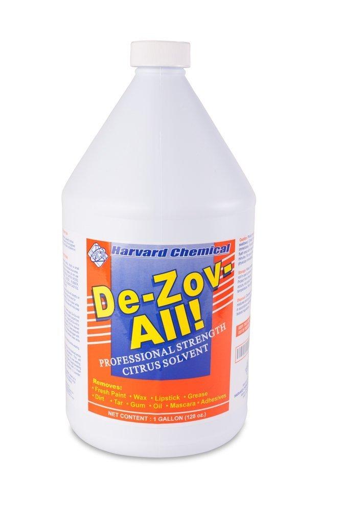 Harvard Chemical - De-Zov-All - D-limonene, Solvent Degreaser, Citrus Fragrance, Booster - 1 Gallon by Harvard Chemical Research
