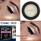 #4: Eyeshadow Big Promotion!ZYooh Pro Makeup Shimmer Color Eyeshadow Metallic Eye Cosmetic (A)