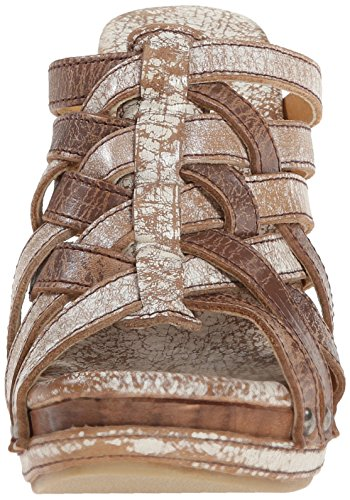 Bed Stu Womens Gina Wedge Sandal Nextar Lux/Tan Lux rx8QXJ
