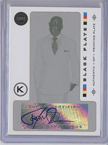 Jay-Z #1/1 (Basketball Card) 2005-06 Topps First Row - Signature Swish - Printing Plate Black Framed [Autographed] #SS-JZ