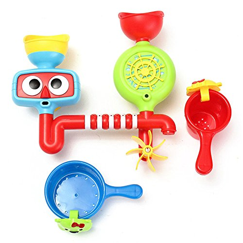 Price comparison product image JUA PORROR Lovely Kids Baby Portable Bath Tub Toy Water Sprinkler System Children Toy Gift