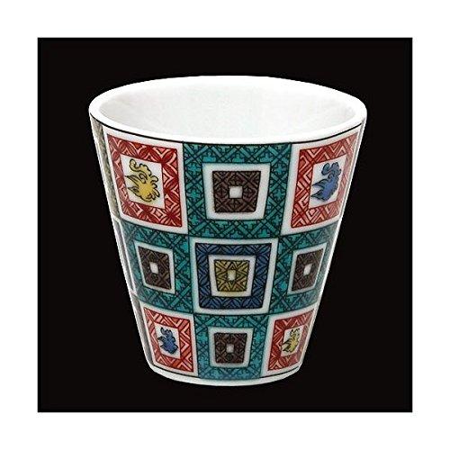 KUTANI YAKI(ware) Sake Cup Old-Kutani by Kutani