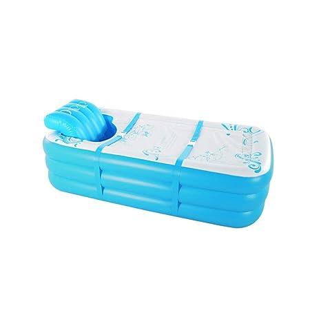 LYM & bañera Plegable Adulto Inflable Bañera Barril Piscina para ...