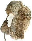 Klondike Sterling Russian Rabbit Fur Trooper Brown XXL (7 7/8)
