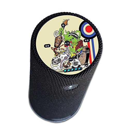MightySkins Protective Vinyl Skin Decal for Amazon Echo Tap wrap Cover Sticker Skins Scooter Punk