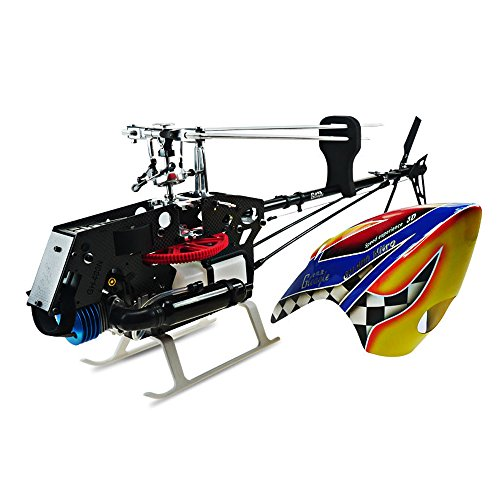 HOBBYT 480N 3D Fuel Oil Nitro RC Helicopter Unassembled Frame kit (Carbon Fiber Body/Engine/ Fiberglass propellers)