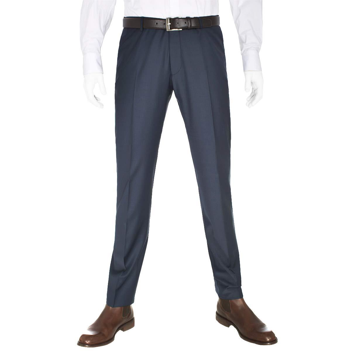 Michaelax-Fashion-Trade Benvenuto Purple - Slim Fit - Herren Baukasten Hose fü r Jungen Trend-Anzug mit sehr schlankem Schnitt in verschiedenen Farben, Tozzi (20657, Modell: 61284)