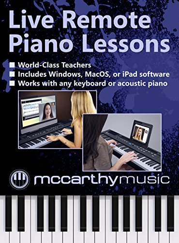 Live Remote Piano Lesson