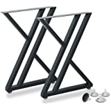 Metal Industrial Dining Modern Table Legs Desk Legs Base Cast Iron Welding Wrought Iron Coffee Table Bench Legs Night Stand O