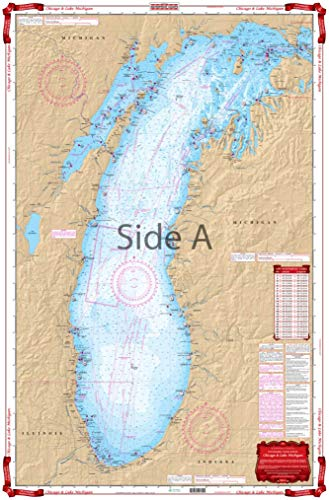 Waterproof Charts, Standard Navigation, 70 Chicago and Lake Michigan