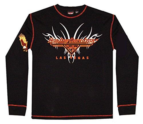 HARLEY-DAVIDSON Las Vegas Cafe thermal biker shirt (XXL, - Mens Vegas Clothes Las
