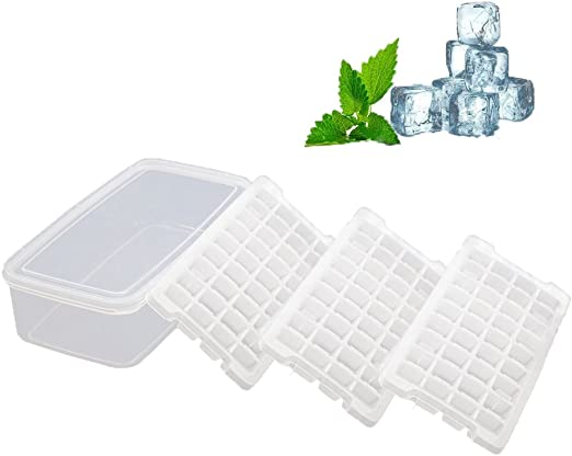 Cubitos de hielo – no derrame apilamiento Ice Cube bandejas, funda ...