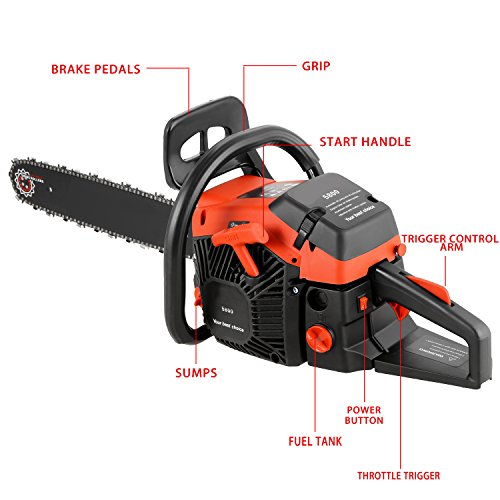 meditool-35hp-58cc-2-stroke-gas-powered-chain-saw-with-2-chains-20-powerful-petrol-chainsaw