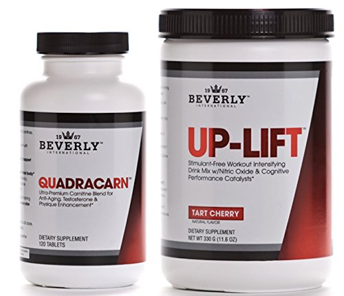 Beverly International Quadracarn & Up-Lift Cardio Pre-Workout Stack 5% OFF