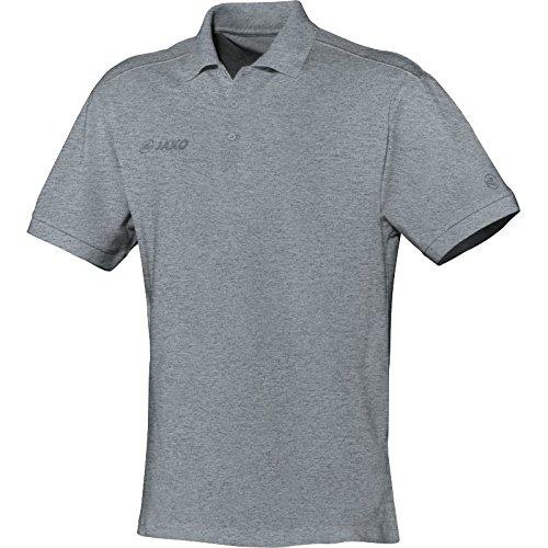 JAKO Polo Shirt Classic - Polo de deporte para hombre gris moteado