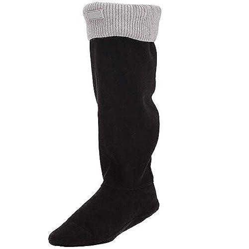 Hunter - Medias de fútbol - para hombre, todo el año, Mujer, color Grey (Grey Marl), tamaño L: Amazon.es: Zapatos y complementos
