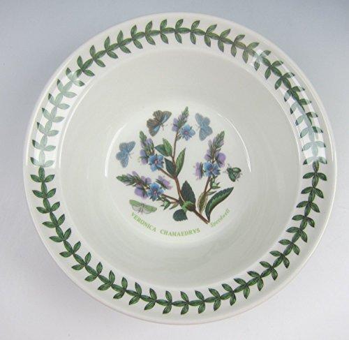 Botanic Garden Oatmeal - Portmeirion China BOTANIC GARDEN Cereal/Oatmeal Bowl (Speedwell) EXCELLENT