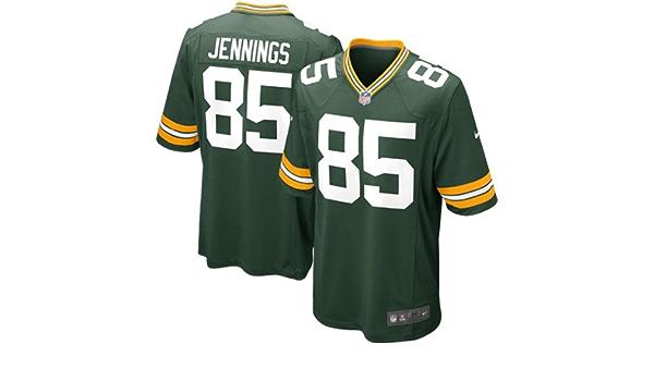 Amazon.com: NIKE NFL Youth Green Bay Packers GREG Jennings # 85 ...