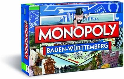 Winning Moves - Monopoly juego de mesa de 2 a 8 jugadores (versión en alemán) , color/modelo surtido: Amazon.es: Juguetes y juegos