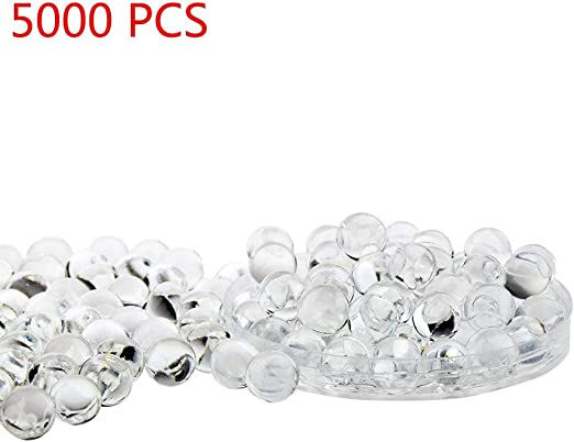 Lot of Red Magic Crystal Mud Soil Water Bead Flower Plant Ball For Party Wedding