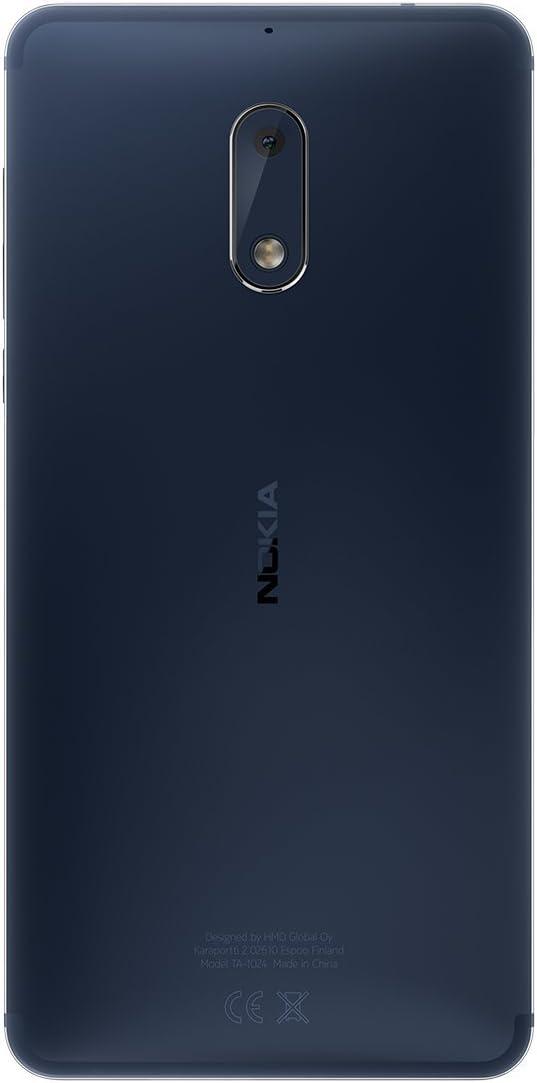 Nokia 6 SIM Doble 4G 32GB Negro: Amazon.es: Electrónica