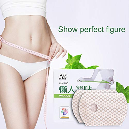 Peanutaso 3PCS Girls Ladies Slimming Plaster Abdomen Treatment Patch Body Forming Paste Slimming Sticker Fat Burning Sticker