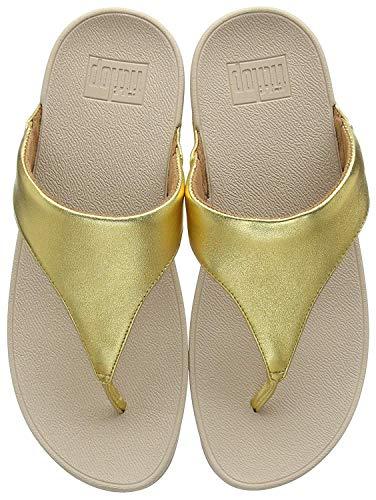 (FitFlop Women's Lulu¿ Artisan Gold/Frappe 10 M)