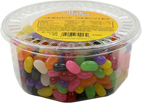 Office Snax OFX70013 Gourmet Jelly Bean Candy Tub, 2-Pound Tub - Jelly Beans 2 Lb Tub