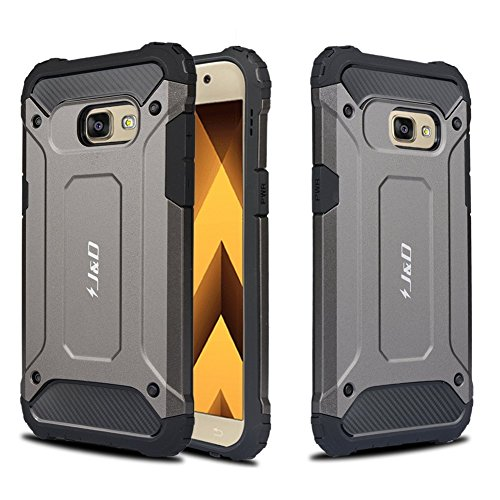 Galaxy A5 2017 Case JD ArmorBox Dual Layer Hybrid Shock Proof