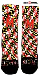 Route One Apparel | University of Maryland Flag Crew Socks