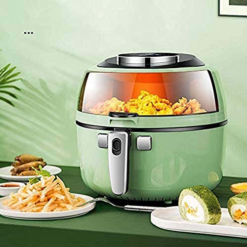 Friteuse Sans Huile Air Fryer, équipé d'un Extra Large 6,5 L Pan, 7 Different cuisson pré-ensembles d'affichage tactile numérique, temps et température réglable