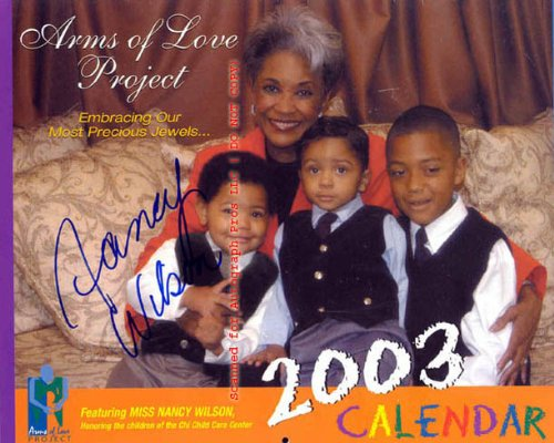 Charity Calendar - Nancy Wilson Autographed Signed Charity Calendar UACC RD AFTAL