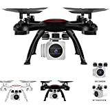 Drone Quadcopter Helicopter Remote Control Toy Wifi Camera Real Time Video 2 Control Modes