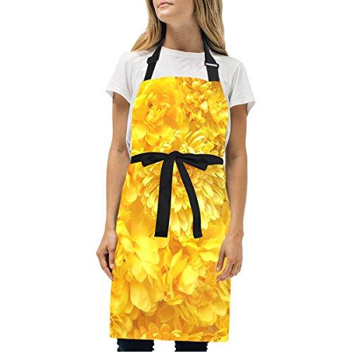 Decorazione Adulto Crisantemo Regolabile Per Uomo Decorazione Tasche Fiore Cucina Con Grembiule Donna Twill Unisex Giardinaggio Personale Multicolor Giallo qZ87xwIHt