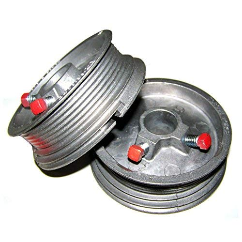 Garage Door Cable Drums Up To 8' High Doors 400-8 (Pair) (Up And Over Garage Door Cable Replacement)