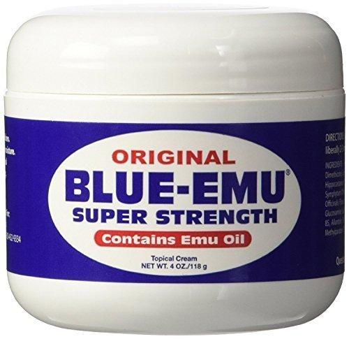 - Blue Emu Blue-Emu-Super Strength Oil, 4 Ounce by Blue Emu