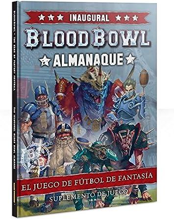 Blood Bowl: Almanaque inaugural (castellano): Amazon.es: Juguetes ...