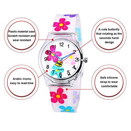 3acaf86a6 Details about Zeiger Time Teacher Teen Young Girls Children Kids Watches