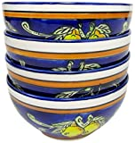 Product review for Le Souk Ceramique CQ33 Stoneware Soup/Cereal Bowls, Set of 4, Citronique