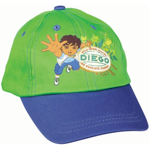 baseball cap child go diego go