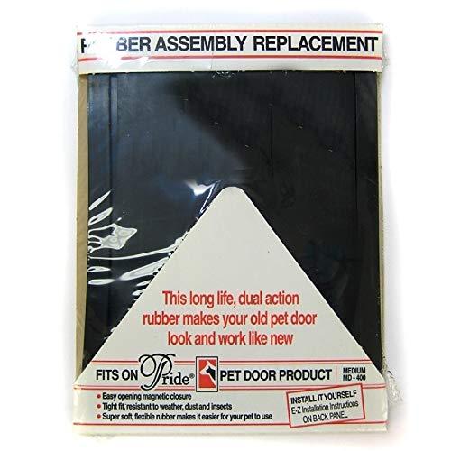 Pride Pet Doors Rubber Assembly Replacement Pet Door Medium - (14.5